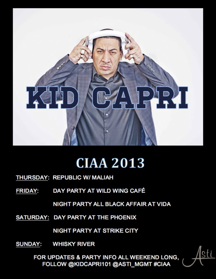 Kid Capri at CIAA 2013