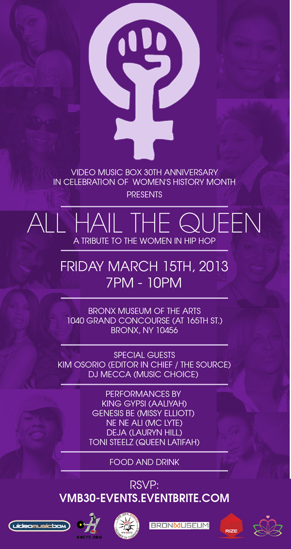 All Hail the Queen: A Tribute to Women in Hip Hop