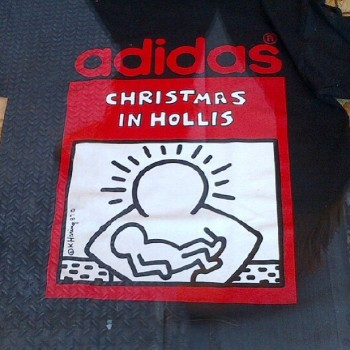 adidas Originals and DMC pre-launched the Christmas in Hollis Run ... 13457e70b