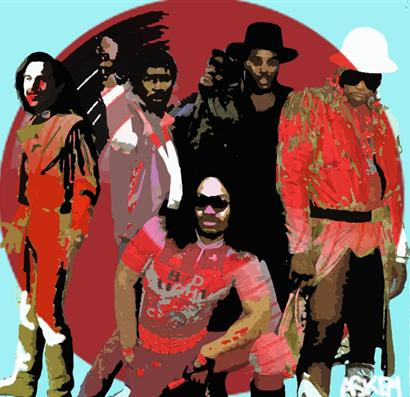 Grandmaster Flash and the Furious Five by Askem